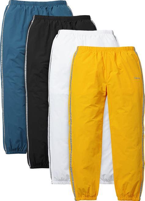 Supreme Trackpants supreme 3m 174 reflective stripe track pant chris