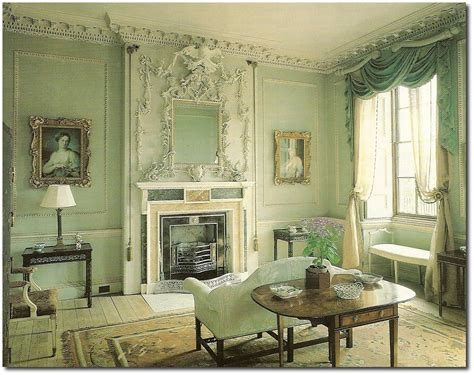 decorating with celadon green for a 1700 s feel