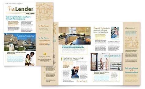 Mortgage Broker Brochure Template Design Mortgage Broker Flyer Template