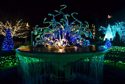 Wanderlust Atlanta One Last Look At Garden Lights Botanic Gardens Lights
