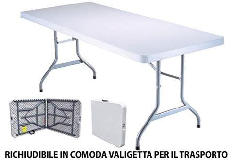tavoli da sagra tavolo tavolino pieghevole in dura resina 183x76xh72 cm