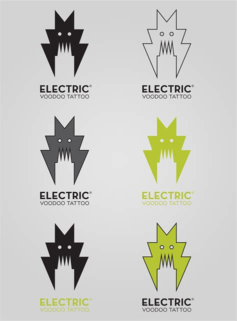 electric voodoo tattoo electric voodoo on behance
