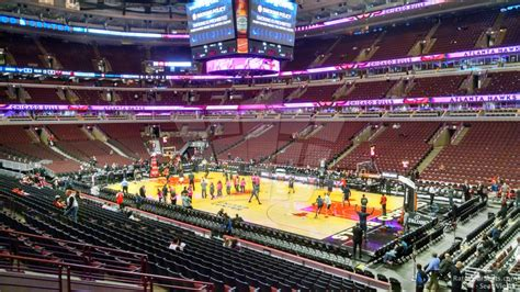 united center section 120 united center section 109 chicago bulls rateyourseats com