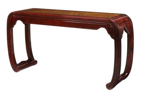 Henredon Asian Modern Console Or Sofa Table Spring Two Henredon Sofa Table