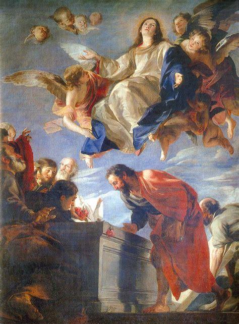 imagenes de la virgen maria asuncion la asunci 211 n de mar 205 a verdad de fe parroquia san miguel