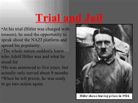 biography of adolf hitler ppt the rise of hitler ppt