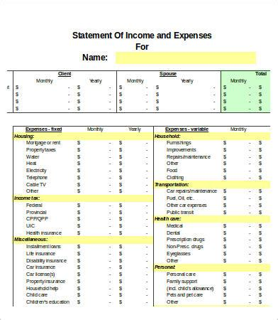 Excel Expense Templates 9 Free Excel Documents Download Free Premium Templates Monthly Spending Excel Template