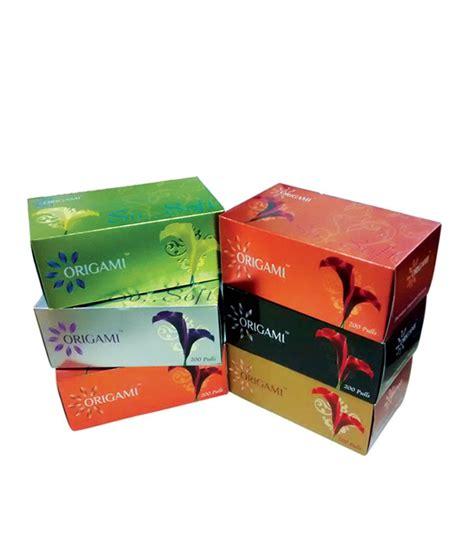 Origami Tissue Box - origami kleenex box comot