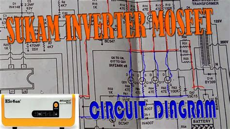 inverter circuit diagram wiring diagram manual