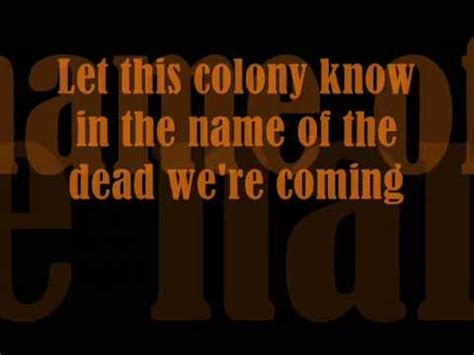 Coheed And Cambria Welcome Home Lyrics by Coheed And Cambria No World For Tomorrow Lyrics