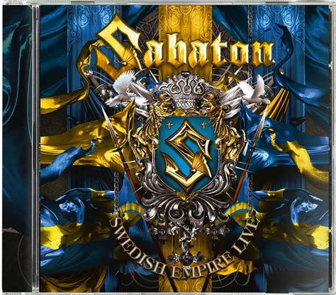 sabaton swedish empire  nuclear blast usa store
