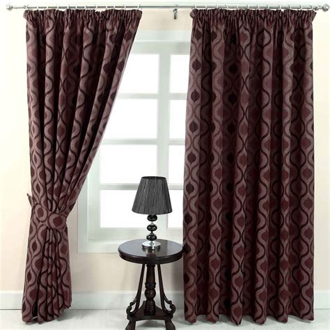 modern pencil pleat curtains pencil pleat jacquard curtains modern wave fully lined