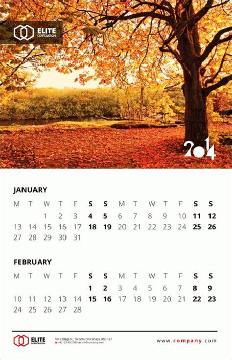 calendar layout ideas 25 new year 2014 wall desk calendar designs for inspiration