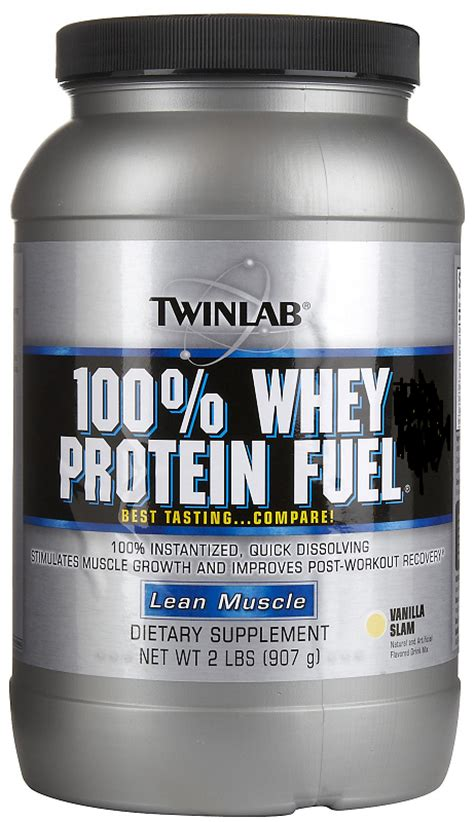 100 Whey Protein Fuel buy twinlab 100 fuel whey protein chocolate 907g and vanilla 907g
