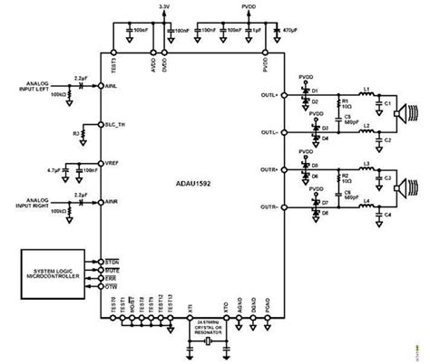 4 channel power lifier circuit diagram wiring diagram