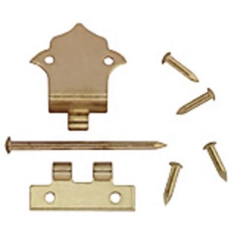doll house hardware offset hinges w nails 6 dollhouse miscellaneous hardware superior dollhouse miniatures