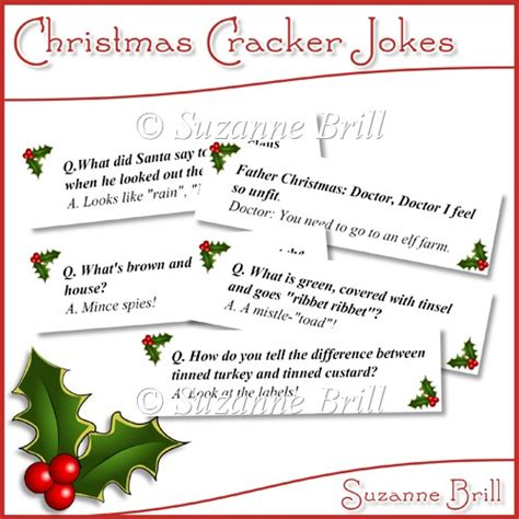 printable christmas joke cards christmas cracker jokes 163 0 70 instant card making