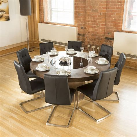 6 person round kitchen table