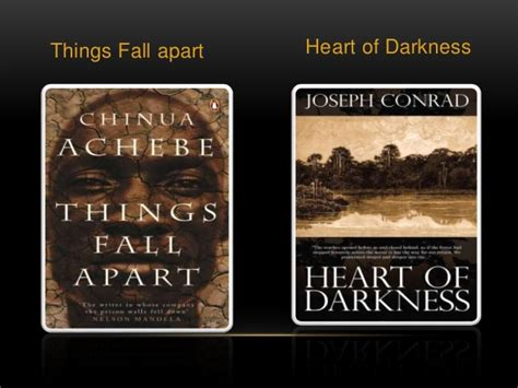 major themes in the book heart of darkness things fall apart and heart of darkness comparison essay