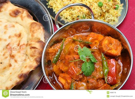 indian curry dinner indian curry dinner meal royalty free stock photos image