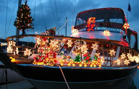 decorations on a boat christmas of course pinterest