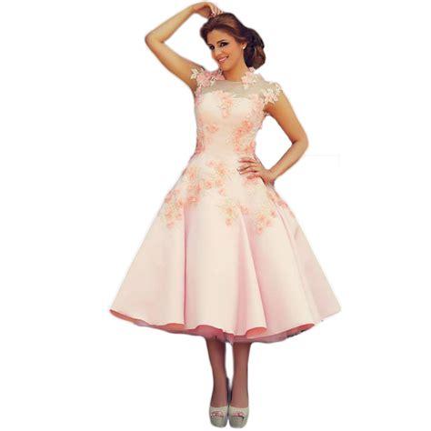 yolanda prom dress 2015 2015 tea length evening dresses pink formal dress high