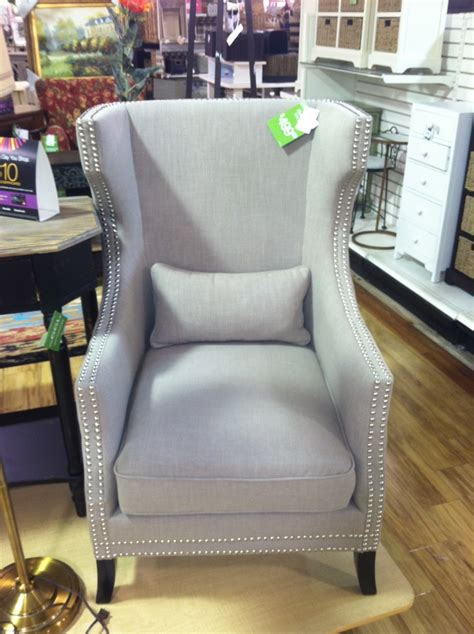 wingback chair tj maxx home goods furnish