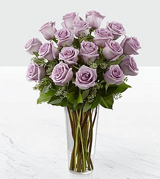 Personalized Wedding Vase The Lavender Rose Bouquet By Ftd 174 Vase Included