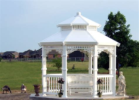 gazebo white grace gazebo 11 white midland vinyl products