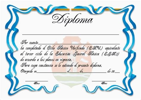 diplomas de graduacion para imprimir gratis plantillas de diplomas de reconocimiento para imprimir