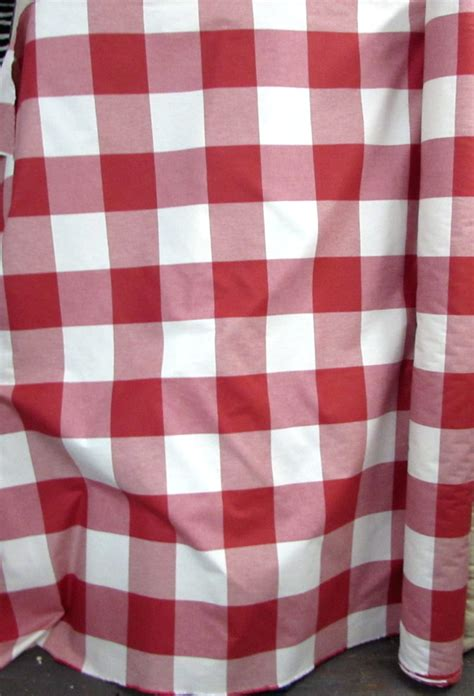 red buffalo check upholstery fabric buffalo check in red designer drapery bedding upholstery