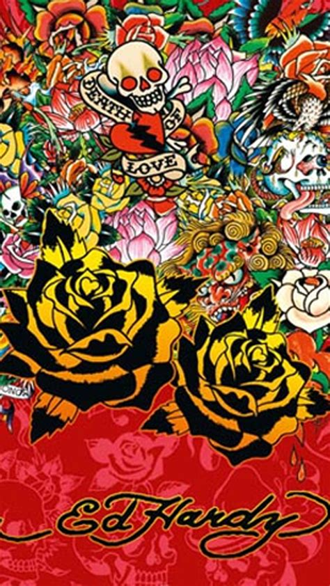 ed hardy home decor ed hardy iphone 6 wallpapers moto e wallpaper