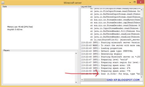 cara membuat database server dengan xp cara membuat server minecraft gnd xp
