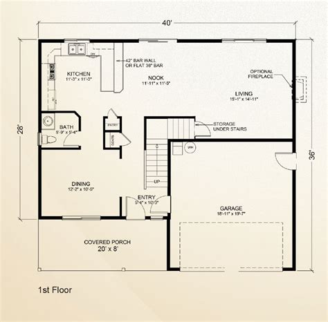 adu floor plans stillwater home plan true built home pacific northwest