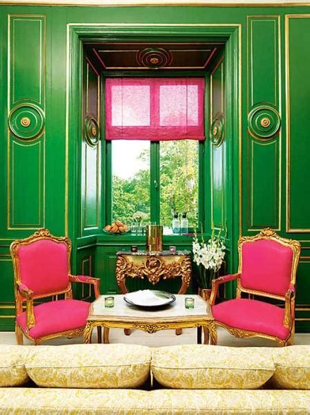 pink house interior pink and green scheme archives panda s house 7 interior decorating ideas