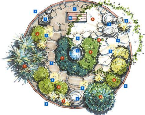 rock garden design plans 25 best ideas about meditation garden on