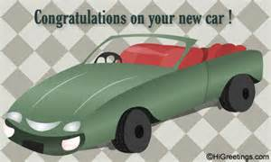 new car wishes sms send ecards new car congrats on new car