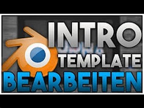 tutorial blender intro tutorial alle blender intro templates bearbeiten gratis