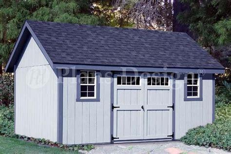 storage shed plans    gable roof design dg