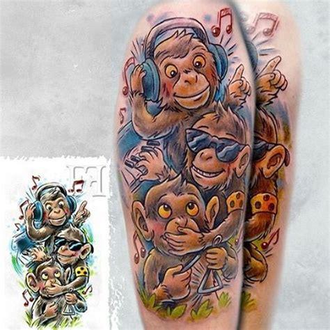 evil monkey tattoo designs collection of 25 evil monkey design