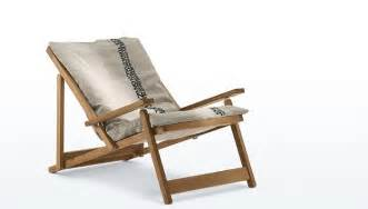gardenista 100 the five best folding canvas deck chairs