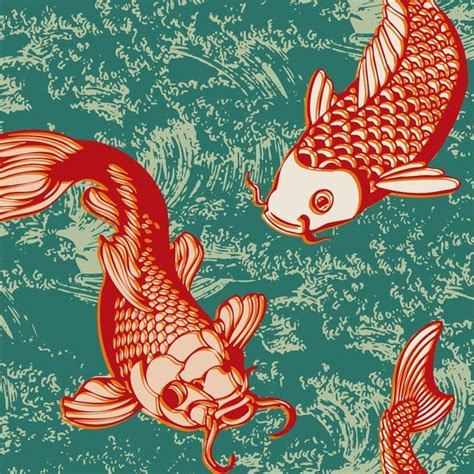 japanese koi pattern 556 best images about design fish sea animals on