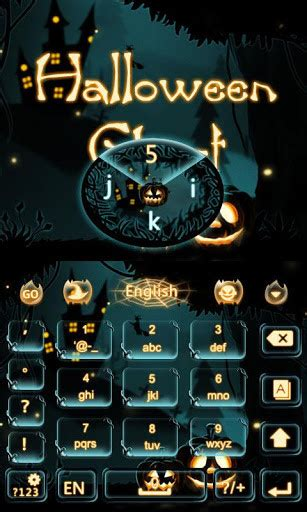 halloween themes for android halloween ghost keyboard theme for android free download