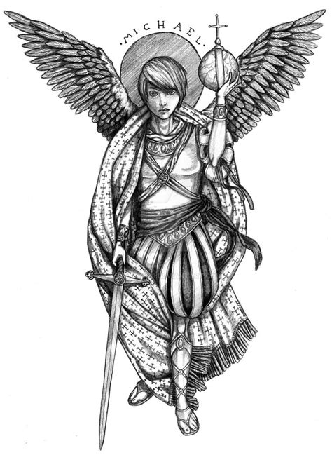 archangel gabriel tattoo designs 40 best drawing archangel gabriel tattoos images on