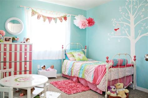 Blue bedrooms for girls decorating ideas fresh bedrooms