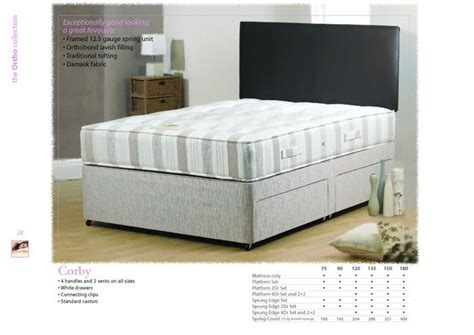 Bed Comforta Single platinum dreams and mattress bed mattress sale