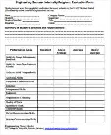 program evaluation template sle program evaluation form 9 exles in word pdf