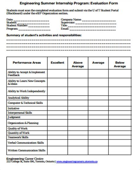 curriculum evaluation template sle program evaluation form 9 exles in word pdf