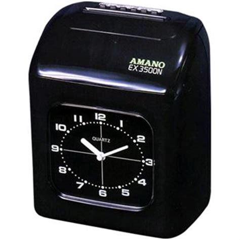 Mesin Absensi Manual jual mesin absen amano ex 3500n spesifikasi dan harga alat kantor dan peralatan kantor lainnya