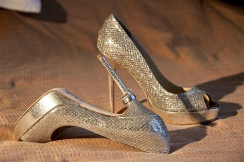 Jimmy Choo 1134 By Bagshop899 jimmy choo crown chagne glitter wedding shoes